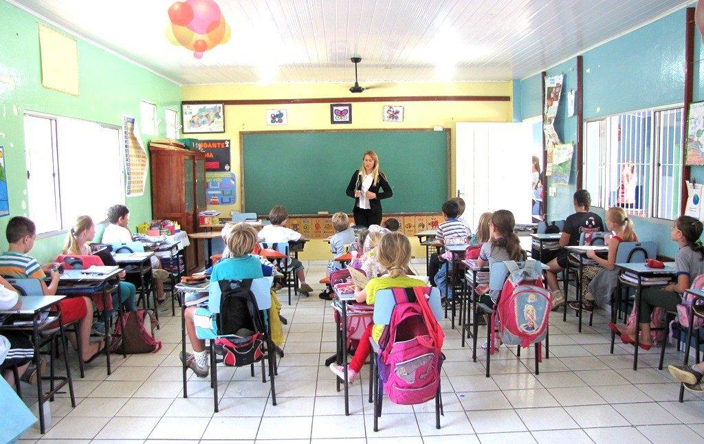 Resultado de imagem para Escola Municipal Gustavo Berger, em Santa Maria de Jetibá (ES)