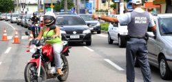 Blitz Polícia Militar - BPTran Viatura Polícia Policial - Out 16. Créditos: Governo do Estado