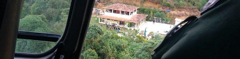 Homem preso em Santa Maria de Jetibá tinha plantação de maconha e 2 estufas em sua propriedade