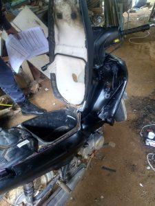Em menos de 24 horas Polícia Militar recupera moto roubada em Santa Maria